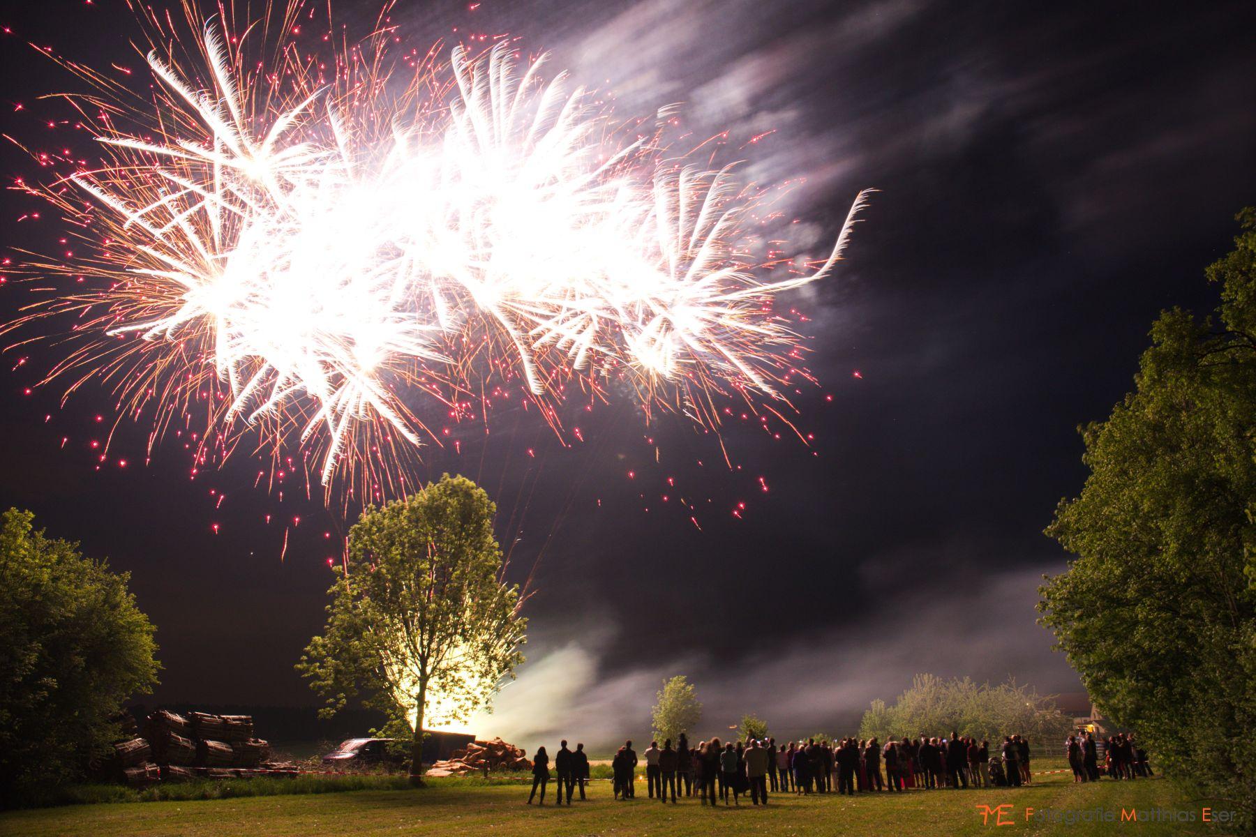 Ustersbach Feuerwerk